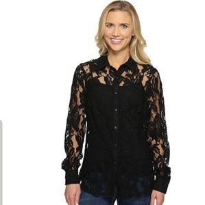 Women's Ariat lace snap shirt